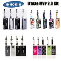 Cheap 100% Original Innokin Itaste MVP 2.0 Energy Shine Version 2600mAh Variable Voltage Wattage starter kit with iClear 16 30 atomizers