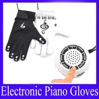 Wholesale Electronic Piano Keyboard glove MOQ