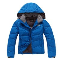 Wholesale Women winter down jacket with hat outdoor outwear hooded parka duck down feather coat T59