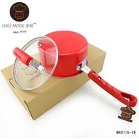 american cookware - American Brand Mini Milk amp Instant Noodles Pan With Cover CM Small Non stick Cookware Soup Pot Colorful