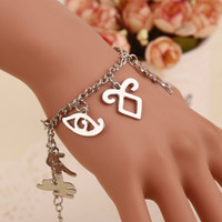 rune - The Mortal Instruments City Of Bones jewelry Rune WICCA sterling silver Bracelets Movies Jewelry bangles