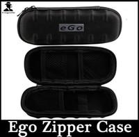 Cigarettes Electroniques Sac Sac Noir Couleur EGO Zipper Case Vape Sacs Pour EGo-T Ego - réservoir CE4 CE5 CE4 + CE5 + Mod Protank Ecig Start Kit