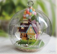 Wholesale Doll house D handmade wooden DIY house with LED birthday gifts for kids and girlfriends lovers