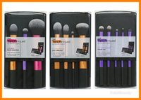 Wholesale Makeup brushes real techniques Black pc Set pincel maquiagem Cosmetics Foundation blush eyeshadow powder brush makeup tool set