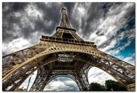 architecture people - Paris Eiffel Tower Architecture decorative printing Modern poster on the wall x75cm posters