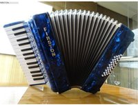 Wholesale FREE SHIPING DHL Professional accordion key bass adult accordion firston