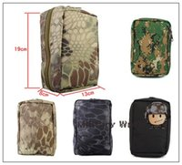 ammo pouch lot - 2pc Airsoft Tactical Military High Quality Nylon Molle Ammo Pouch Tool Bag Outdoor Sports Packs Hunting Camping Hiking Black order lt no