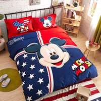 mickey mouse bedding - Mickey Mouse Piece Toddler Bedding Set Bedding Bed Set Cotton BEDSHEET Kid and adult Seoul