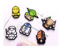 Wholesale Hot Sale New Novelty Star War Fridge Magnets PVC Magnetic Sticker Blackboard Magnets Refrigerator Magnets W910 Free DHL
