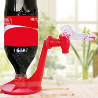 Wholesale Hot Attractive Novelty Saver Soda Dispenser Bottle Coke Upside Down Drinking Water Dispense Machine Gadget Home Party Bar use