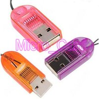 Wholesale Best Quality Smallest MicroSD TransFlash T Flash TF USB Memory Card Reader