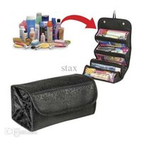 Wholesale High Quality Fashion Travel Hanging Shaving Makeup Cosmetics Toiletry Wash Pouch Case Bag Organizer