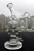 Wholesale 9 quot FC Torus glass bong Recycle glass bongs FC oil rigs glass bongs sturdy smoking water pipes joint size mm FC Torus I