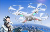 Wholesale Camera Aerial photography four axis aircraft real time UAV remote control aircraft fall rotor UFO HD key return headless mode