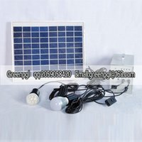 Wholesale Solar home watt W Watt Solar power system small independent system DC power system from the network system