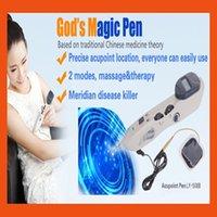 Wholesale 2016 HOT latest mini HINE DIGITAL MASSAGE whole body acupuncture massage Electrode massage TENS electronic acupuncture appar Freeshipping