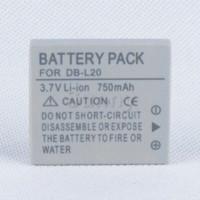 achat en gros de sanyo caméscope numérique-Batterie pour Sanyo DB-L20, DB-L20AU et Xacti VPC-C40, VPC-C5, VPC-C6, VPC-CA6, VPC-CA65, VPC-CA8, VPC-CA9 Caméscope numérique