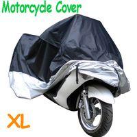 Wholesale Big Size cm Motorcycle Covering Waterproof Dustproof Scooter Cover UV resistant Heavy Racing Bike Cover