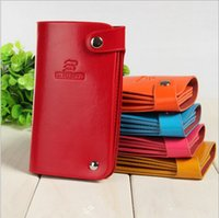 Wholesale Hot Sale Genuine Leather Women Card Holder Fashion Multi card Position Women Card Package Long Style Slim Women Card Bag KK32300