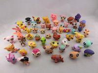 ALL'INGROSSO Littlest Pet Shop LPS animali calcola il giocattolo Ramdon Kids Collection bambini del giocattolo regali di compleanno di trasporto