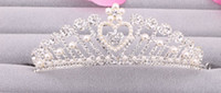 Wholesale Fashion Wedding Veil Tiara Crown Headband Hair Accessories Tiaras Bridal Veil