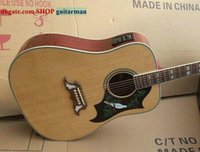 Wholesale Natural Dove Acoustic Guitar With Fishman Acoustic Electric Guitar HOT SALE