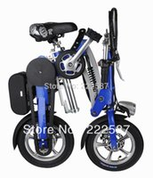 folding electric bicycle - Folding lithium battery electric bicycle electric bike battery aviation aluminum mini with high performance lithium battery