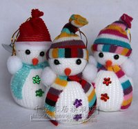 Wholesale Christmas Decorations Christmas Snowman Doll Christmas Tree Decoration Scene Children Gifts CM Colorful