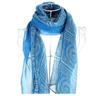 Wholesale Autumn and winter elegant autumn and winter elegant linen terylene scarf muffler scarf fashion all match female scarf