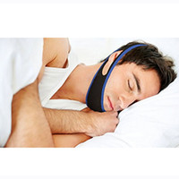 Wholesale Anti Snore Chin Strap Stop Snoring Belt Anti Snoring Chin Jaw Supporter Anti Snore Apnea Belt For Men Women Care Sleep Products
