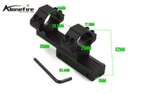 Wholesale AloneFire LB2002 Tactical mm Ring Mount High Profile Integral Rifle Scope Weaver Picatinny mm Rail For Hunting PC