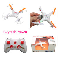 ar drone control - Skytech M62R G CH Axis professional rc helicopter Radio Control Quadcopter Aircraft Toys Ar Drone With Camera r c drone