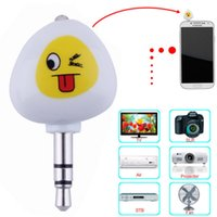 Wholesale 3 mm Plug Mobile Phone Smart IR Remote Control for TV DVD Air Conditioner