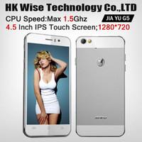 Recensioni Jiayu g3-telefono cellulare nuovo arrivo Jiayu G5 4.5
