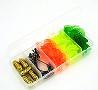 Wholesale Soft Curty Tail Lures Soft Lures Worm Hooks Lure Set