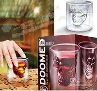 Wholesale Crystal Skull Head Vodka Shot Glass Pirate Glasses Beer Mug ounces new cup