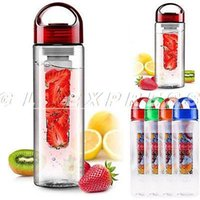 Wholesale S New ml Fruit Infuser Water Bottle Infusion BPA Free Detox Drink Juice Bottle