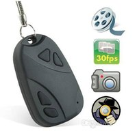 Wholesale Spy Car Key Chain Hot Cheap Spy Car Keychain Camera Mini Hidden Video Camera in Car Keys