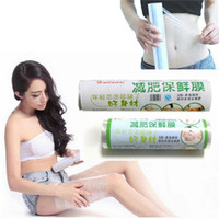 pe shrink film - New PE PE Slimming Wrap Shrinking Waist Thigh Leg Arm Heat Fat Burning Loss Weight Body Slimming Calf Powerful Corset Film
