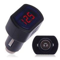 Wholesale Car LCD Cigarette Lighter Voltage Digital Panel Meter Volt Voltmeter Monitor Car Instrument east