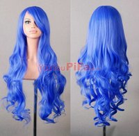 Wholesale New Cos wig anime cosplay long hair stage harajuku female long hair cm