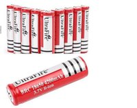 Wholesale Big Discount ultrafire V Rechargeable Battery mAh for LED Flashlight