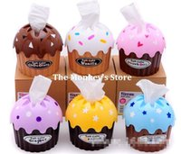 best cake icing - Best Selling Roll Paper Tube Soft Ice Cream Tissue Box Cake Style F0773