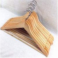 belted dress coat - 2016 Solid Wood Hangers Clothing Cheap Hangers Coat Hanger Clothes Pegs Home Essentials Outdoor Airing Supplies Percha Racks CCA1845