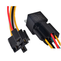 Wholesale Details about Hot Sale New Pin V SPDT Relay Wire Socket Car Automotive Alarm AMP