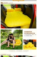 Wholesale SUV Car Airbeds Travel mattress inflatable Bed Parent Child Sleeping Overnighter For Camping With Pume