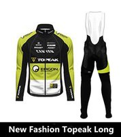 Wholesale Ropa Ciclismo New Topeak Long cycling jersey bicycle long sleeve Ride pants clothing man outdoor sportswear bicycle MTB sets