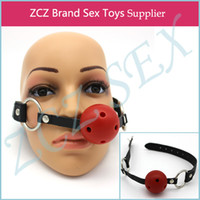 other adult items - ZCZ Flirt Sex Toys Gag ball sex dog collar Fetish Bondage Adult Sex Toys For Couple Adult Games Items CR002