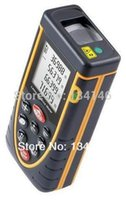 Wholesale m Laser distance meter with Bubble Level Tool RZ80 measure Tape for Area Volume M in Ft Rangefind Range finder A3