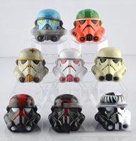 DHL 2016 New 5cm solide Star Wars Figurines d'action casque modèle de masque PVC cadeau jouets d'enfant 8 modèles C252